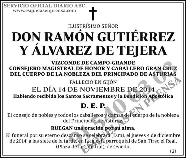 Ramón Gutiérrez y Álvarez de Tejera